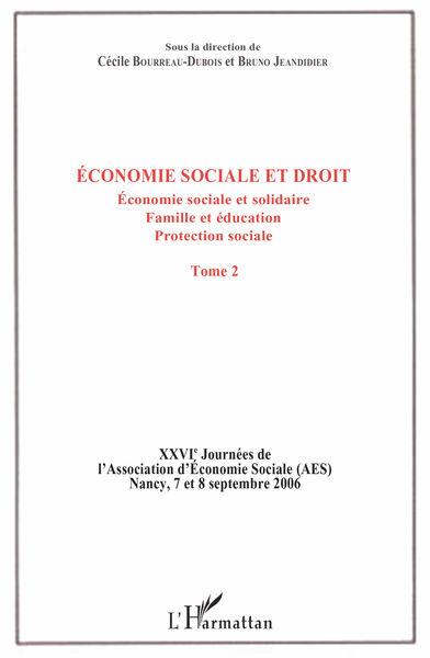 Économie sociale et droit