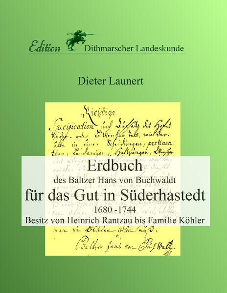Erdbuch für das Gut in Süderhastedt