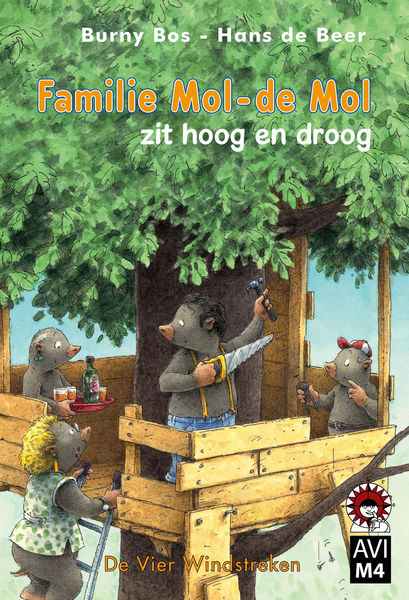 Familie Mol - de Mol zit hoog en droog