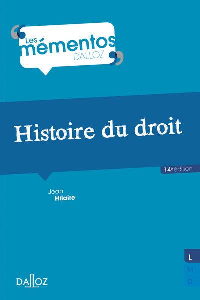 Histoire du droit. Introduction historique au droi...