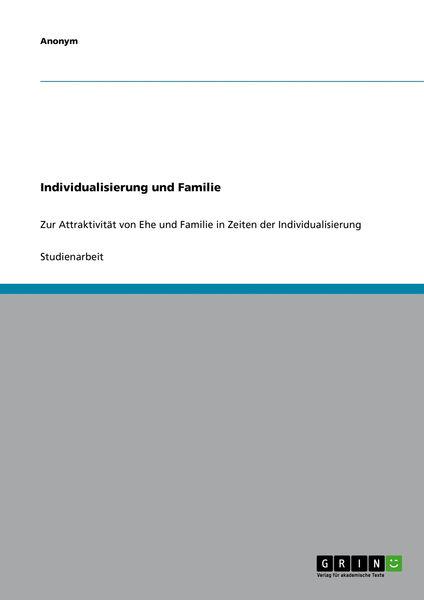Individualisierung und Familie