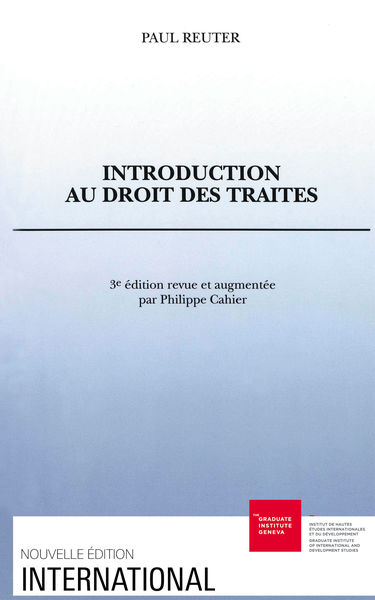 Introduction au droit des traités
