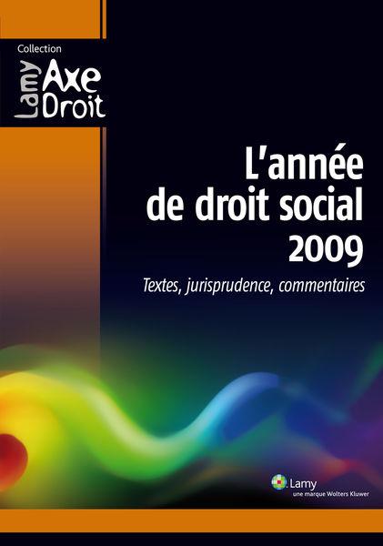 L'année de Droit social 2009