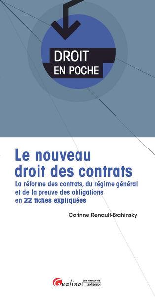Le nouveau droit des contrats