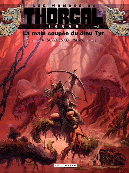 Louve - tome 2 - La main coupée du dieu Tyr