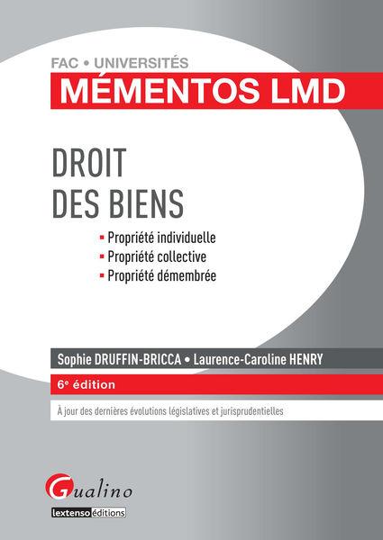 Mémentos LMD - Droit des biens