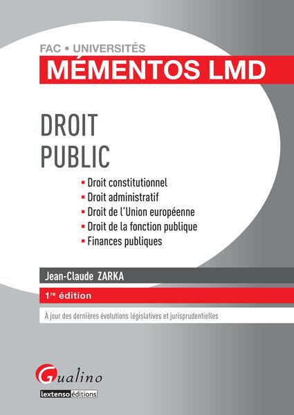 Mémentos LMD - Droit public