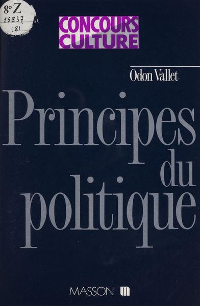 Principes du politique, genèse du droit, origines ...