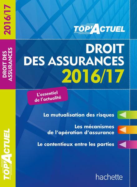 TOP Actuel Droit es assurances 2016/2017