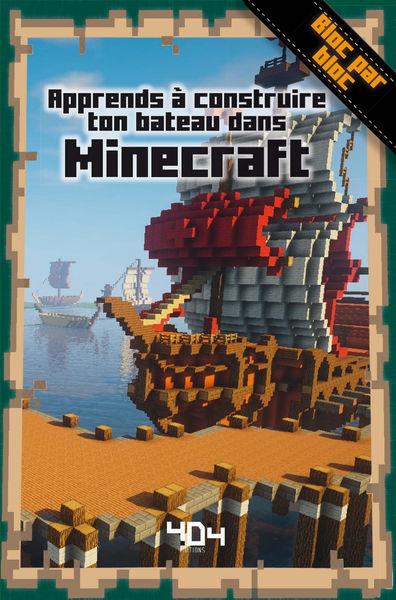Apprends à créer ton bateau dans Minecraft