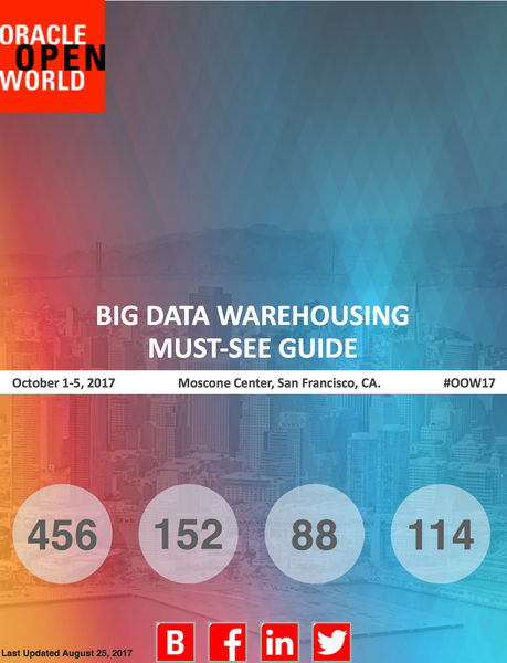 Big Data Warehousing Must See Guide for Oracle Ope...
