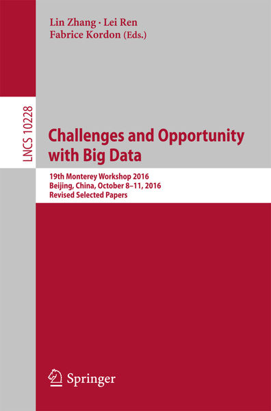 Challenges and Opportunity with Big Data