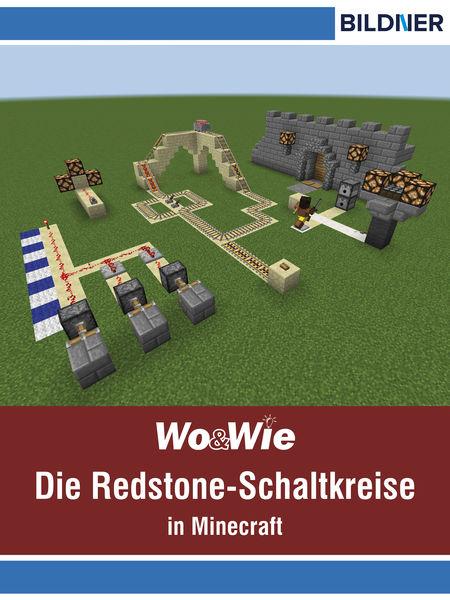 Die Redstone-Schaltkreise in Minecraft auf einen B...