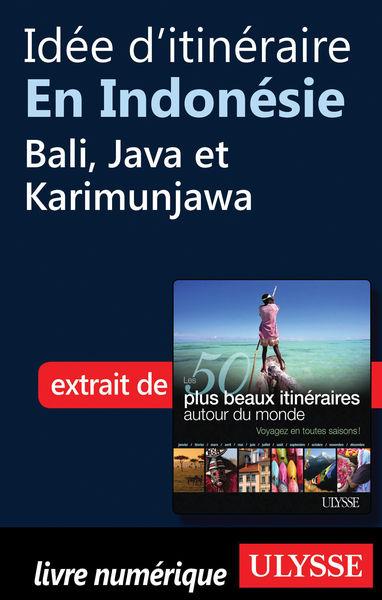 Idée d'itinéraire en Indonésie - Bali, Java et Kar...