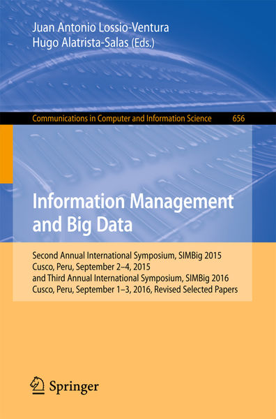 Information Management and Big Data