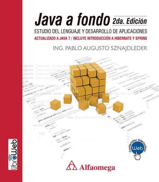 Java a fondo - estudio del lenguaje y desarrollo d...
