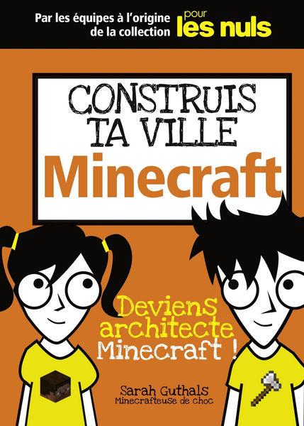 Je construis ma ville Minecraft, Mégapoche Pour le...