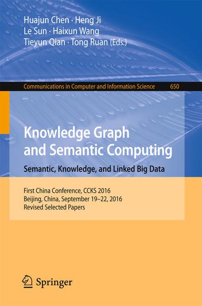 Knowledge Graph and Semantic Computing: Semantic, ...