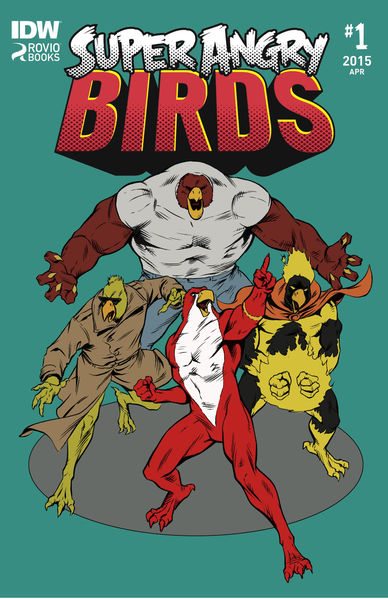 Super Angry Birds #1