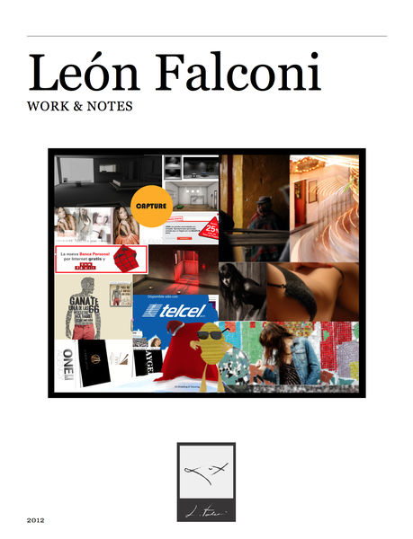 Work & Notes - Leo Falconi