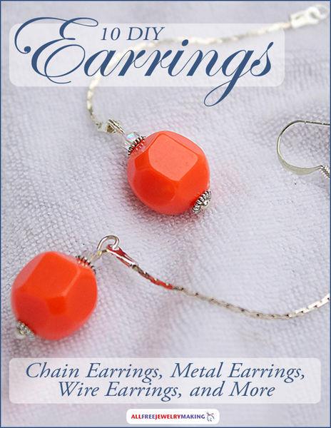 10 DIY Earrings: Chain Earrings, Metal Earrings, W...