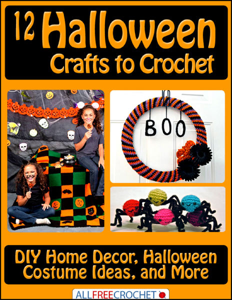 12 Halloween Crafts to Crochet: DIY Home Decor, Ha...