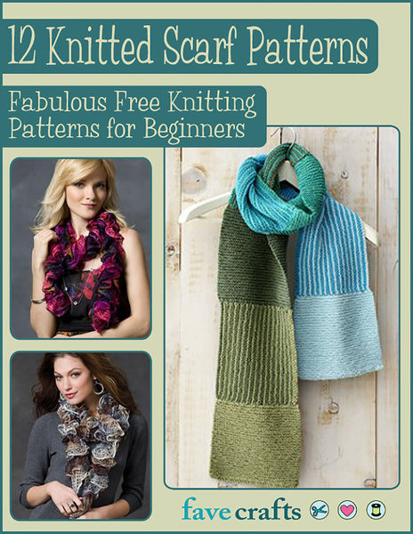 12 Knitted Scarf Patterns: Fabulous Free Knitting ...