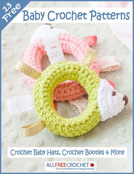 13 Free Baby Crochet Patterns: Crochet Baby Hats, ...