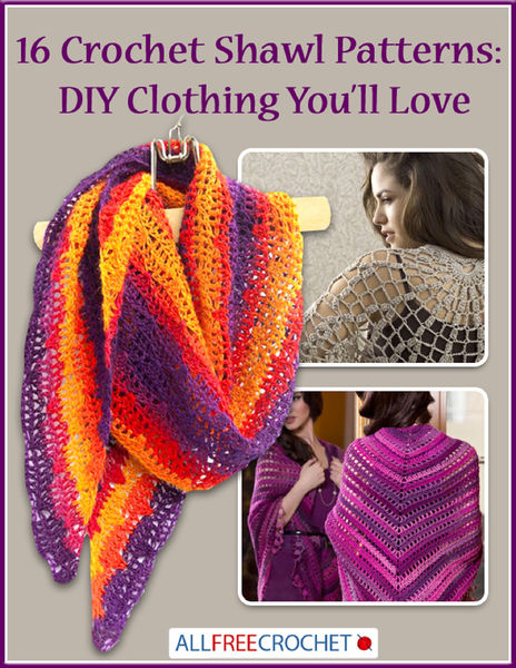 16 Crochet Shawl Patterns: DIY Clothing You'll Lov...