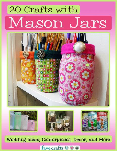 20 Crafts with Mason Jars: Wedding Ideas, Centerpi...