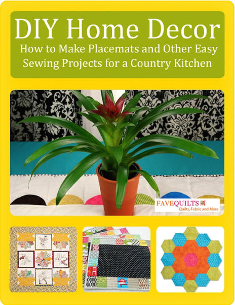 DIY Home Decor: How to Make Placemats and Other Ea...