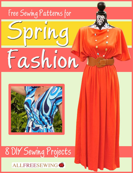 Free Sewing Patterns for Spring Fashion: 8 DIY Sew...