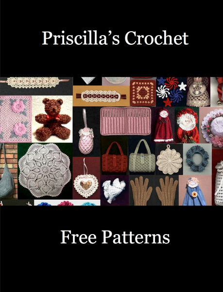 Priscilla's Crochet Free Patterns