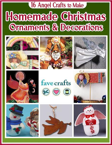 16 Angel Crafts to Make: Homemade Christmas Orname...