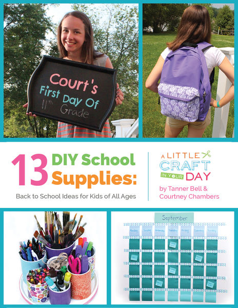 3 DIY School Supplies: Back to School Ideas for Ki...