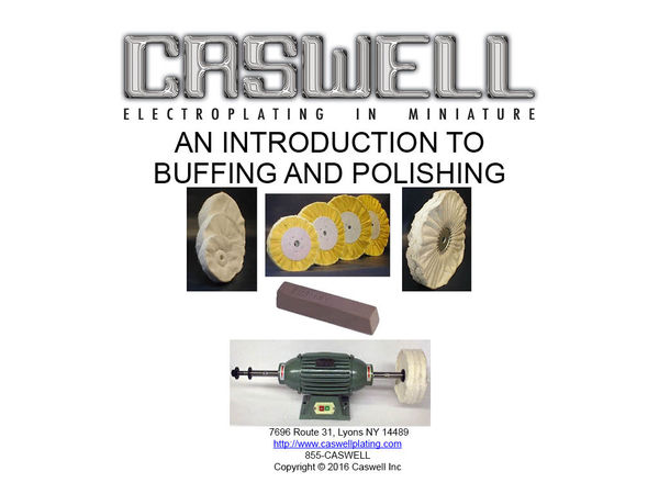 An Introduction To Buffing And Polishing