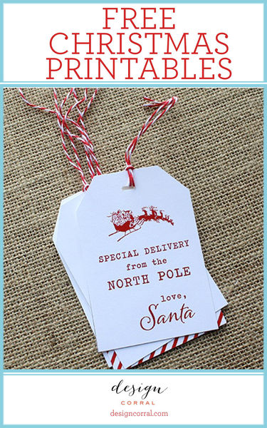 Christmas Printables By Design Corral