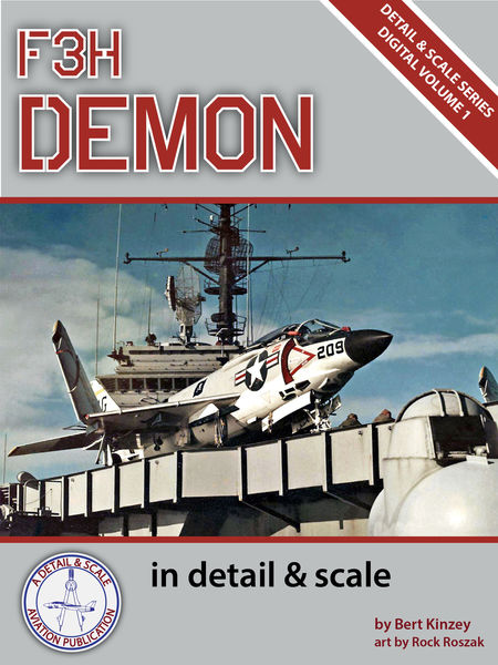 F3H Demon in Detail & Scale