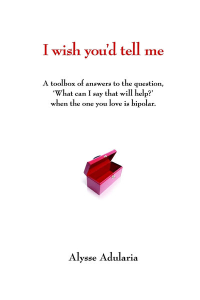 I Wish You'd Tell Me