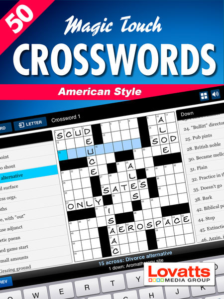 Magic Touch Crosswords American Style #1