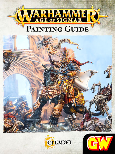Warhammer Age of Sigmar Painting Guide (Tablet Edi...
