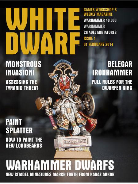 White Dwarf Issue 1: 1 Feb 2014