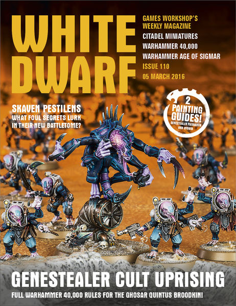White Dwarf Issue 110: 5th March 2016 (Tablet Edit...