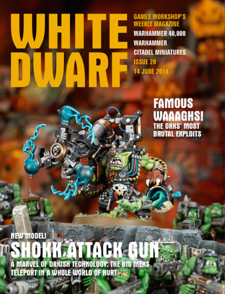White Dwarf Issue 20: 13 June 2014