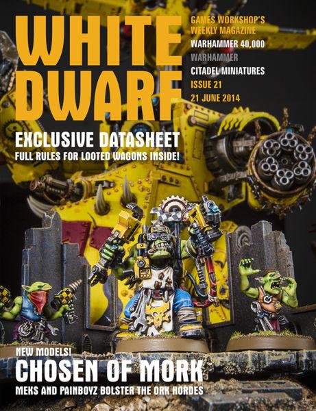 White Dwarf Issue 21: 21 June 2014