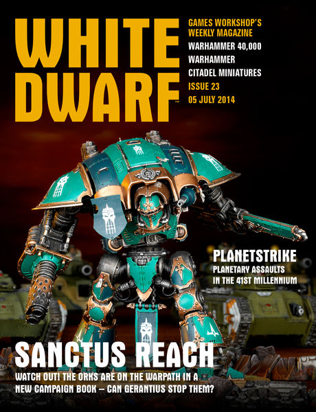 White Dwarf Issue 23: July 5 2014