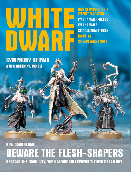 White Dwarf Issue 34: 20 September 2014