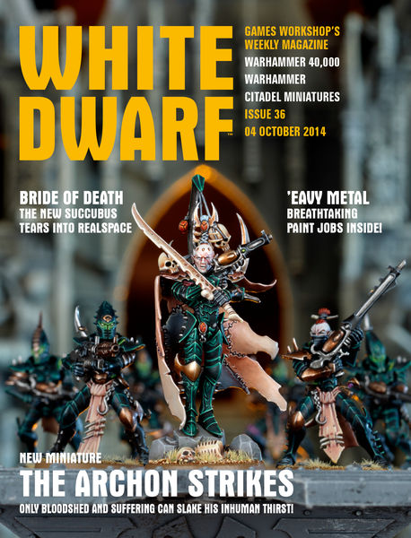 White Dwarf Issue 36: 04 October 2014