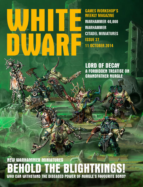 White Dwarf Issue 37: 11 October 2014
