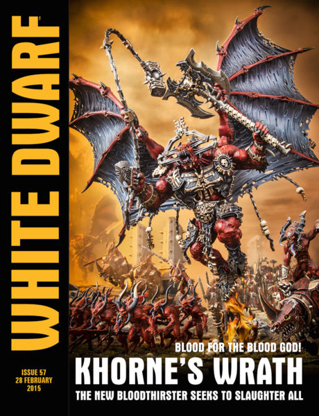 White Dwarf Issue 57: 28 February 2015